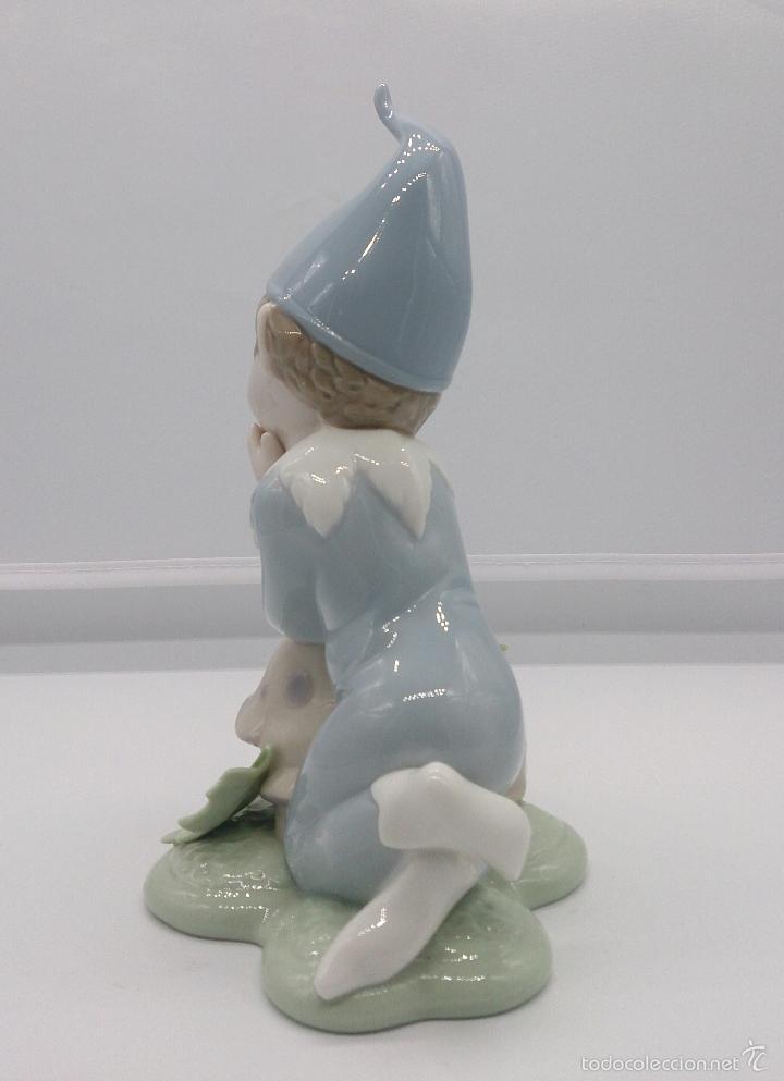 Antigüedades: Bello duende en porcelana Lladró ( Golden Memories ), DAISA 1993 . - Foto 2 - 200861926