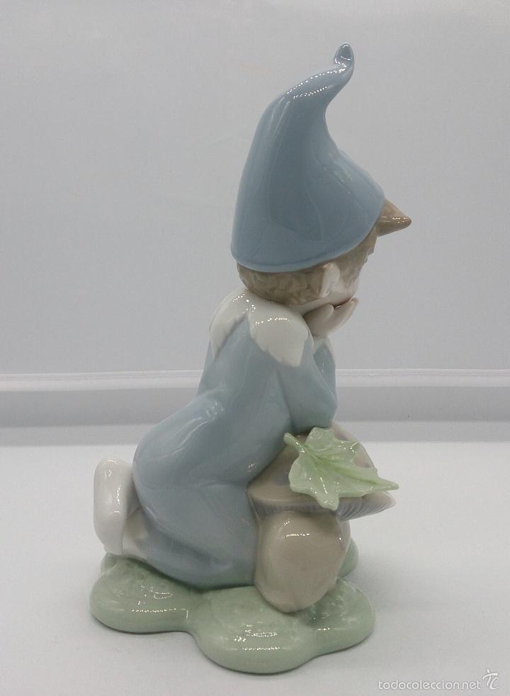 Antigüedades: Bello duende en porcelana Lladró ( Golden Memories ), DAISA 1993 . - Foto 3 - 200861926
