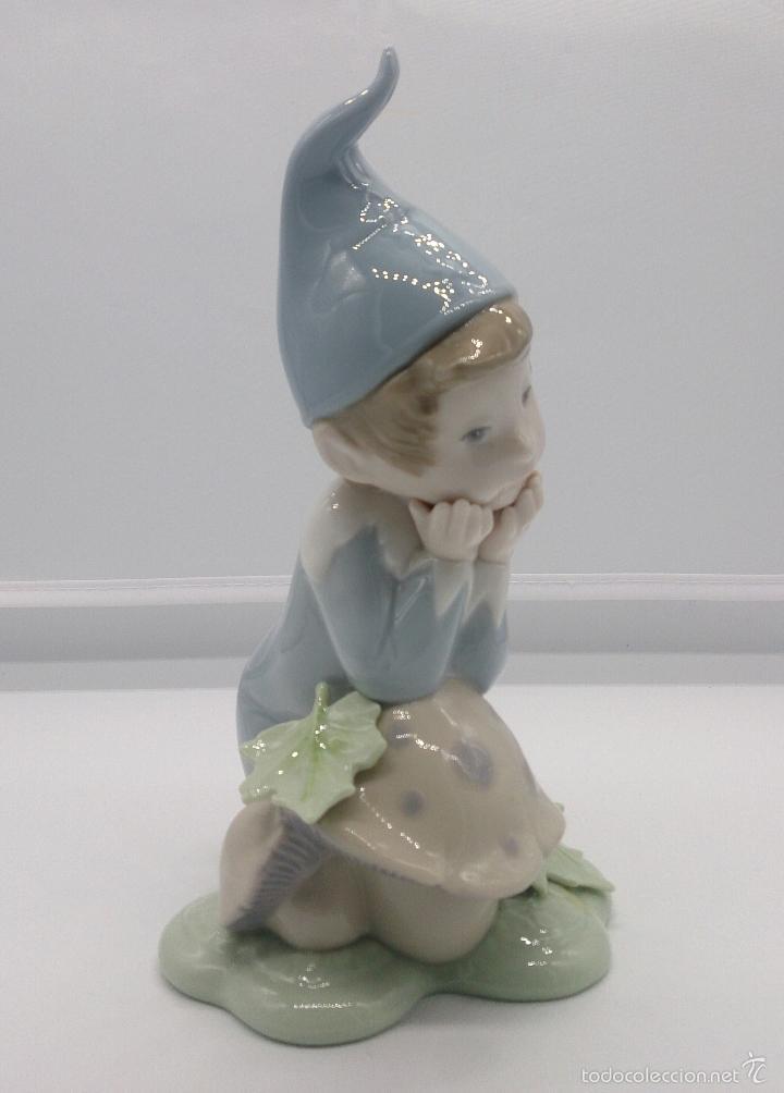 Antigüedades: Bello duende en porcelana Lladró ( Golden Memories ), DAISA 1993 . - Foto 4 - 200861926