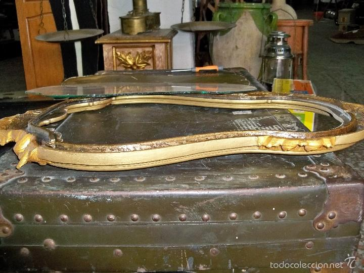 Antigüedades: ESPEJO CORNUCOPIA, MADE IN FRANCE - Foto 12 - 225059975