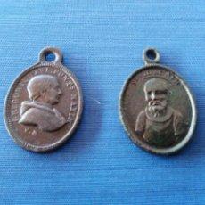 Antigüedades: LOTE DOS MEDALLAS ANTIGUAS. Lote 58283688