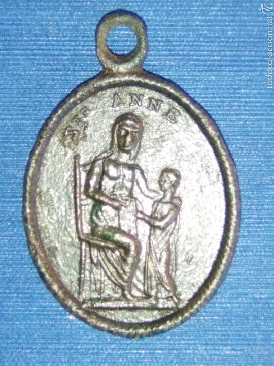 Antigüedades: LOTE DOS MEDALLAS ANTIGUAS - Foto 5 - 58283688