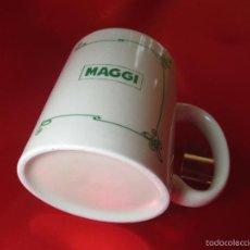 Antigüedades: TAZÓN-COFFE MUG-ESPAÑA-PUBLICIDAD:MAGGI-9,5X8 CMS-PERFECTO,COMO NUEVO-VER FOTOS.. Lote 58285989