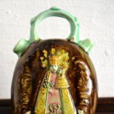 Antigüedades: BOTIJO VIRGEN DE LOS DESAMPARADOS MANISES AÑOS 30. Lote 58289346