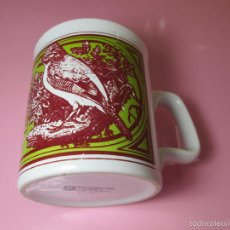 Antigüedades: TAZÓN-COFFE MUG-ENGLAND-STAFFORDSHIRE-DISEÑO-9X8 CMS-PERFECTO ESTADO-VER FOTOS.. Lote 58301871