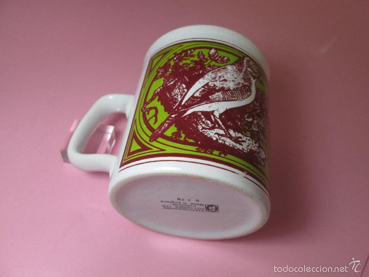 Antigüedades: TAZÓN-COFFE MUG-ENGLAND-STAFFORDSHIRE-DISEÑO-9x8 CMS-PERFECTO ESTADO-VER FOTOS. - Foto 4 - 58301871