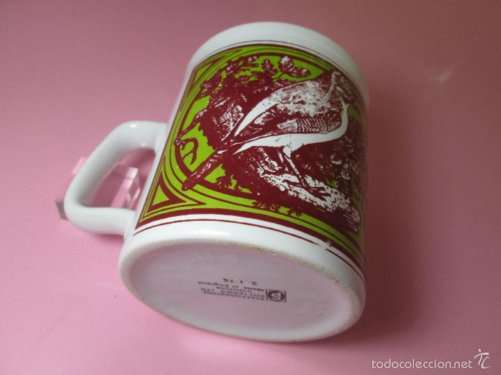Antigüedades: TAZÓN-COFFE MUG-ENGLAND-STAFFORDSHIRE-DISEÑO-9x8 CMS-PERFECTO ESTADO-VER FOTOS. - Foto 5 - 58301871