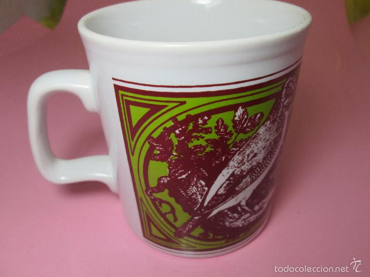 Antigüedades: TAZÓN-COFFE MUG-ENGLAND-STAFFORDSHIRE-DISEÑO-9x8 CMS-PERFECTO ESTADO-VER FOTOS. - Foto 6 - 58301871
