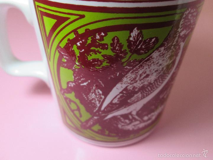 Antigüedades: TAZÓN-COFFE MUG-ENGLAND-STAFFORDSHIRE-DISEÑO-9x8 CMS-PERFECTO ESTADO-VER FOTOS. - Foto 8 - 58301871
