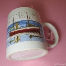 Antigüedades: TAZÓN-COFFE MUG-ESPAÑA-DISEÑO MARINA-9,5X8 CMS-PERFECTO,COMO NUEVO-VER FOTOS.. Lote 58301980