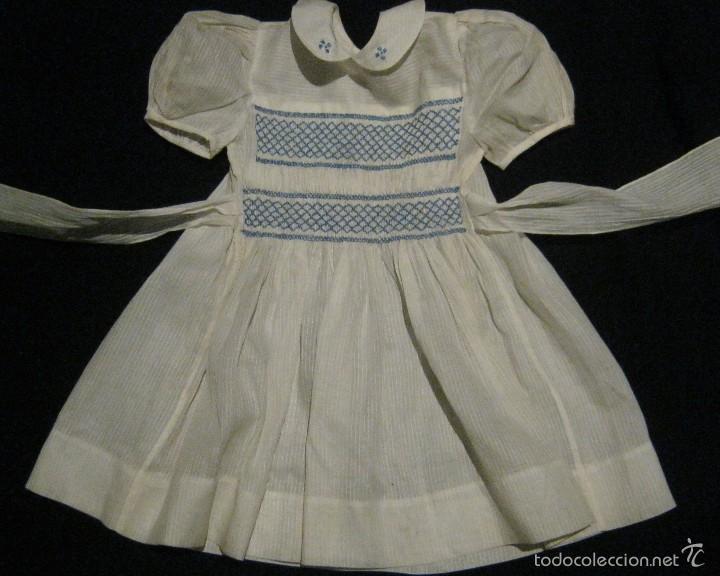 ANTIGUO VESTIDO PARA NIÑA PPIO.S. XX (Antigüedades - Moda y Complementos - Mujer)