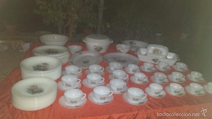 ANTIGUA VAJILLA ARCOPAL, UNA BELLEZA (Antigüedades - Porcelanas y Cerámicas - Otras)