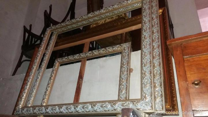 2 marcos grandes y 1 mediano madera - Comprar Marcos Antiguos de ...