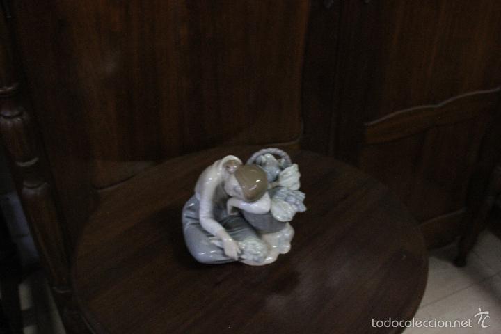 Antigüedades: PORCELANA LLADRO. VERDULERITA DORMIDA.ESCULTOR ANTONIO BALLESTER AÑOS 1970-1986.IMPECABLE. - Foto 8 - 58337692