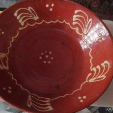 Antigüedades: PLATO ANTIGUO 24,5 CM. Lote 58344392