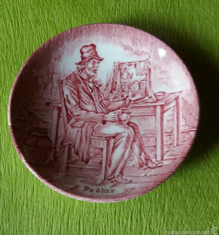 PLATITO WEDGWOOD (Antigüedades - Porcelanas y Cerámicas - Inglesa, Bristol y Otros)