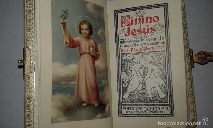 Antigüedades: MISAL MI PRIMERA COMUNIÓN 1955 - Foto 3 - 58368131