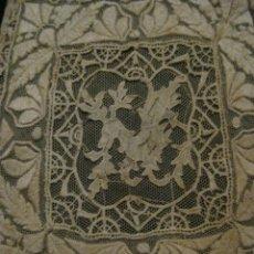 Antigüedades: ANTIGUO ENCAJE S. XIX. Lote 58371131