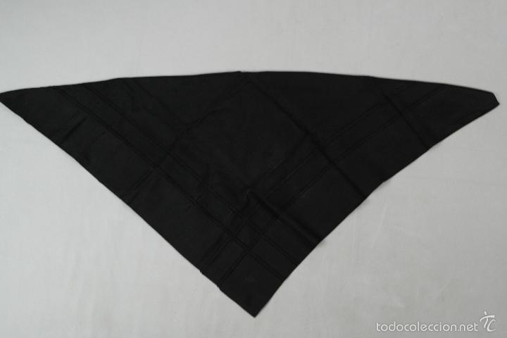 Antigüedades: Lote pañuelos de luto - Foto 9 - 58072558