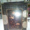 Antigüedades: JOYERO JAPONES LACADO. Lote 58378871