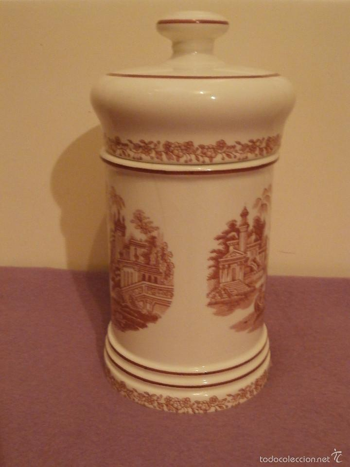 Antigüedades: Albarelo de Farmacia - Bote - Frasco - Recipiente - Pickman, S.A. - La cartuja - 22 cm. Altura - Foto 2 - 58384309