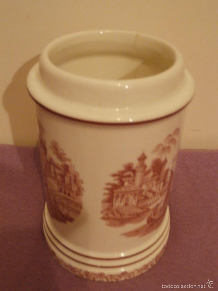 Antigüedades: Albarelo de Farmacia - Bote - Frasco - Recipiente - Pickman, S.A. - La cartuja - 22 cm. Altura - Foto 4 - 58384309