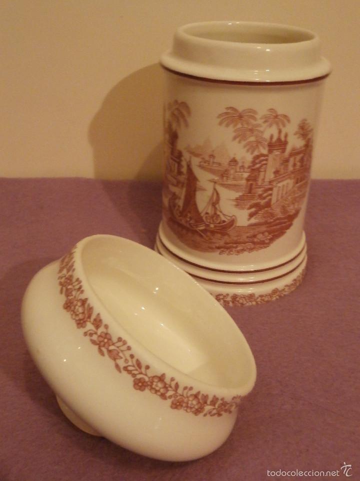 Antigüedades: Albarelo de Farmacia - Bote - Frasco - Recipiente - Pickman, S.A. - La cartuja - 22 cm. Altura - Foto 6 - 58384309