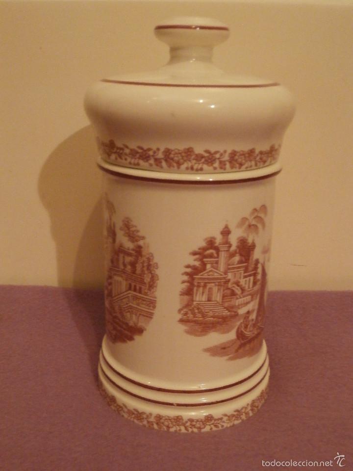Antigüedades: Albarelo de Farmacia - Bote - Frasco - Recipiente - Pickman, S.A. - La cartuja - 29 cm. Altura - Foto 5 - 58384396
