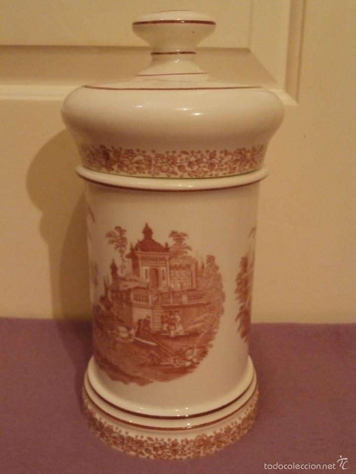 Antigüedades: Albarelo de Farmacia - Bote - Frasco - Recipiente - Pickman, S.A. - La cartuja - 29 cm. Altura - Foto 6 - 58384396