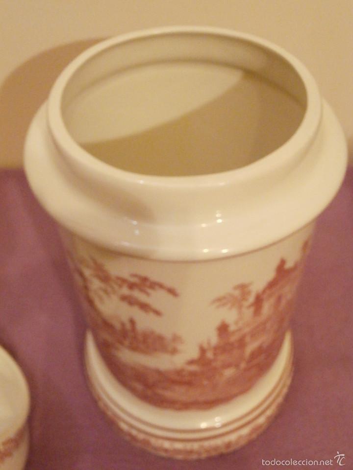 Antigüedades: Albarelo de Farmacia - Bote - Frasco - Recipiente - Pickman, S.A. - La cartuja - 29 cm. Altura - Foto 7 - 58384396