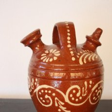 Antigüedades: BÚCARO / BOTIJO POSIBLEMENTE DE SALVATIERRA DE LOS BARROS . Lote 58415024