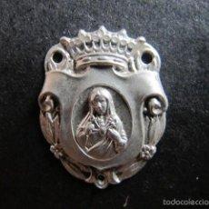 Antigüedades: MEDALLA CHAPA RELIGIOSA LA DOLOROSA. Lote 58432062