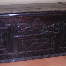 Antigüedades: ARCA DE NOGAL.. Lote 58437705