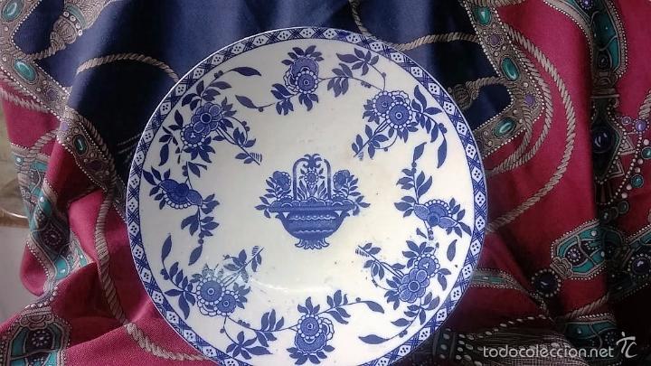 FRUTERO PORCELANA SAN JUAN DE AZNALFARACHE. SEVILLA (Antigüedades - Porcelanas y Cerámicas - San Juan de Aznalfarache)