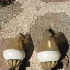 Antigüedades: PAREJA APLIQUES DE PARED. Lote 58477973