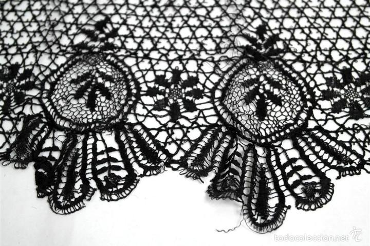 ANTIGUO ENCAJE BOLILLOS (Antigüedades - Moda - Otros)