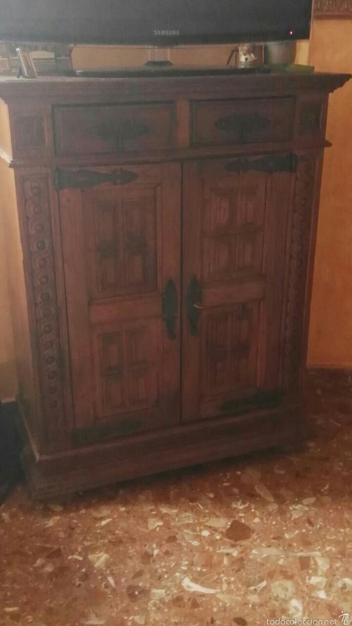 Antiguo mueble estilo castellano comprar muebles - Muebles estilo antiguo ...