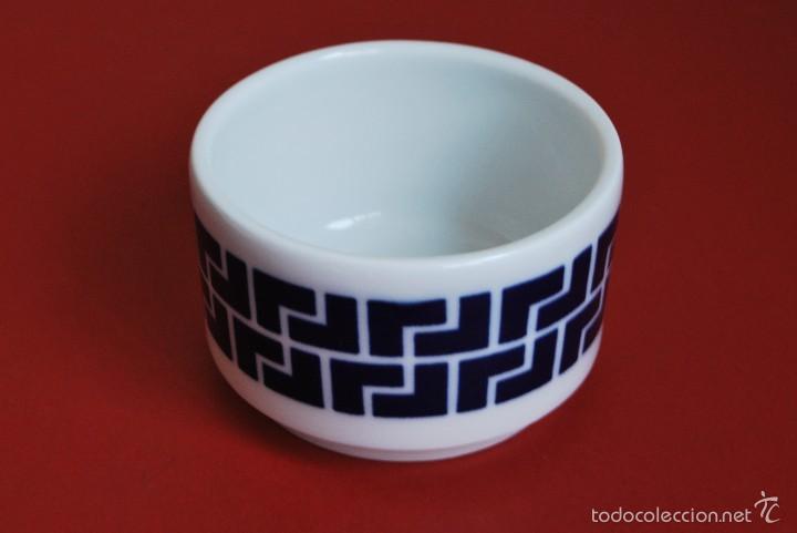 BOTE DE PORCELANA DE SARGADELOS - TARRO (Antigüedades - Porcelanas y Cerámicas - Sargadelos)