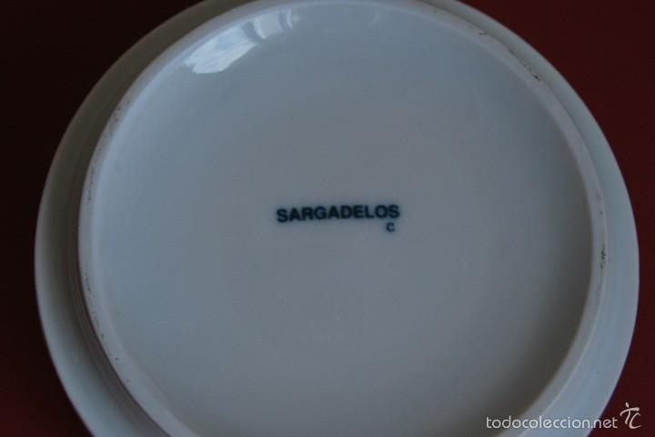 Antigüedades: BOTE DE PORCELANA DE SARGADELOS - TARRO - Foto 4 - 58508368