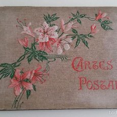 Antigüedades: ANTIGUO ALBUM CARTES POSTALES. Lote 58510317