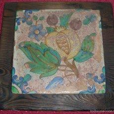 Antigüedades: ANTIGUO AZULEJO, CERÁMICA DE MUEL, SIGLO XV - XVI. Lote 58515170