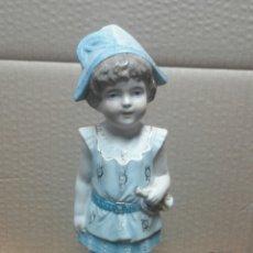 Antigüedades: BISCUIT SERIE COLOR XIX . Lote 58516918