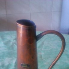 Antigüedades: BONITA JARRA DE COBRE , FIOSA SCHWEIZER HANDARBEIT. Lote 58518790