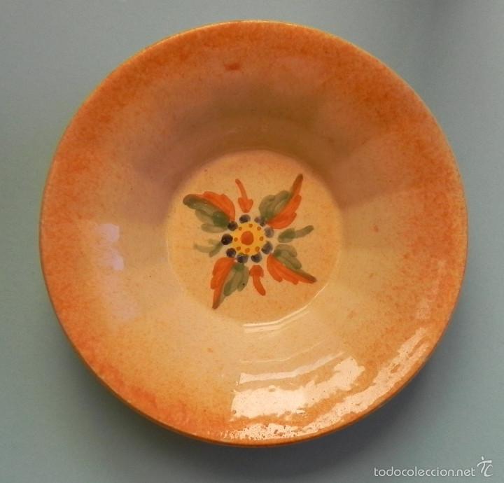 ** PLATO PEQUEÑO DE PORCELANA DE ALCORA SELLADO ** (Antigüedades - Porcelanas y Cerámicas - Alcora)