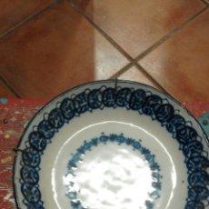 Antigüedades: PLATO CERAMICA MANISES XIX . Lote 58523435