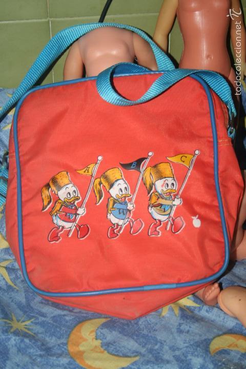 ANTIGUA CARTERA INFANTIL AÑOS 70 PATO DONALD (Antigüedades - Moda y Complementos - Infantil)