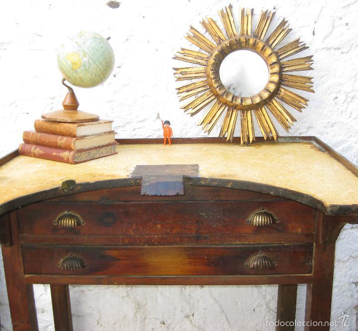 Preciosa mesa antigua oficios joyero o relojero comprar - Decoracion vintage industrial ...