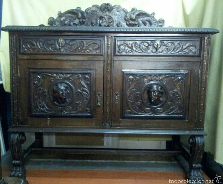 Mueble estilo remordimientos comprar aparadores antiguos en todocoleccion 58558908 - Muebles estilo antiguo ...