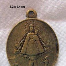 Antigüedades: MEDALLA ANTIGUA BRONCE N. SRA DE CORTES ALCARAZ ALBACETE. Lote 58569518
