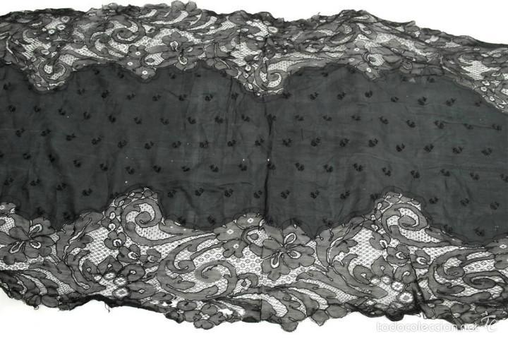 ANTIGUA MANTILLA DE TOALLA (Antigüedades - Moda - Mantillas)